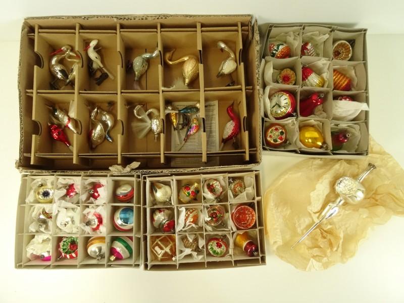 Oude Kerstballen & clips