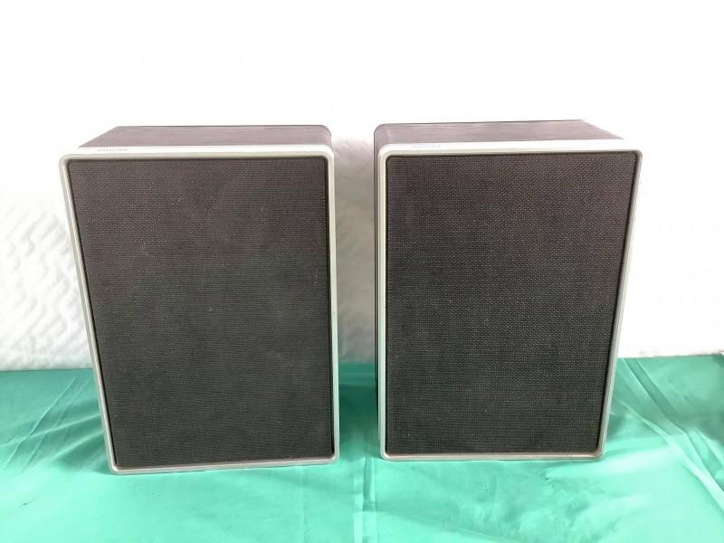 2 vintage Phillips luidsprekers: 22RH442