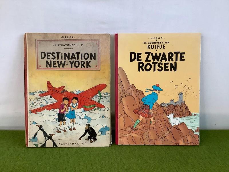 2 strips van Hergé