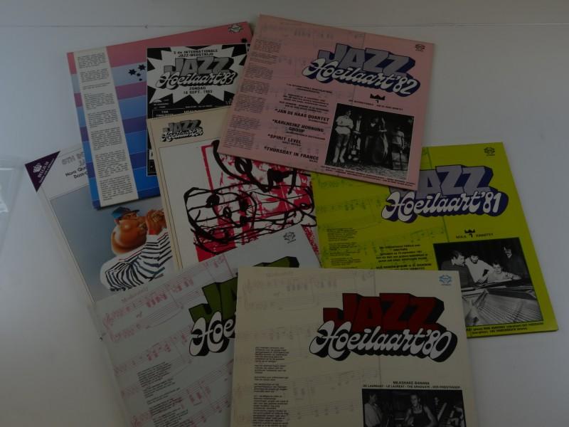 lot Jazz Hoeilaart LP's (6stuks)