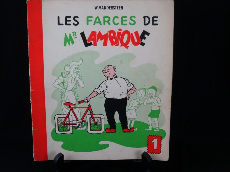 W. Vandersteen: Les farces de Mr Lambique nr 1 1955