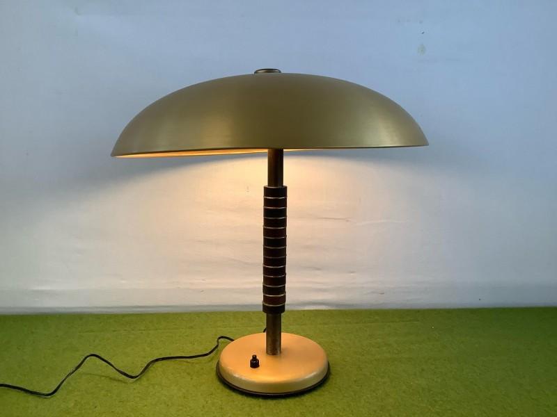 Art deco bureaulamp uit 1944