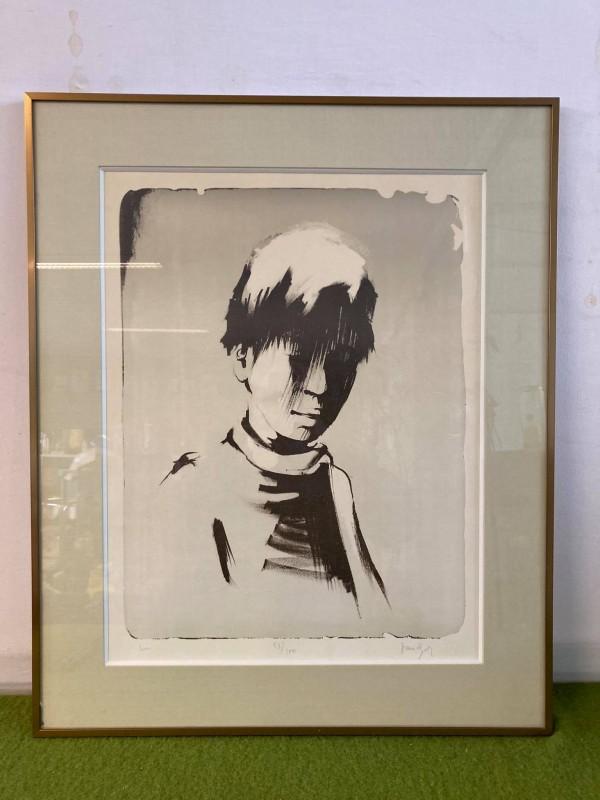 Modern zwart/wit portret