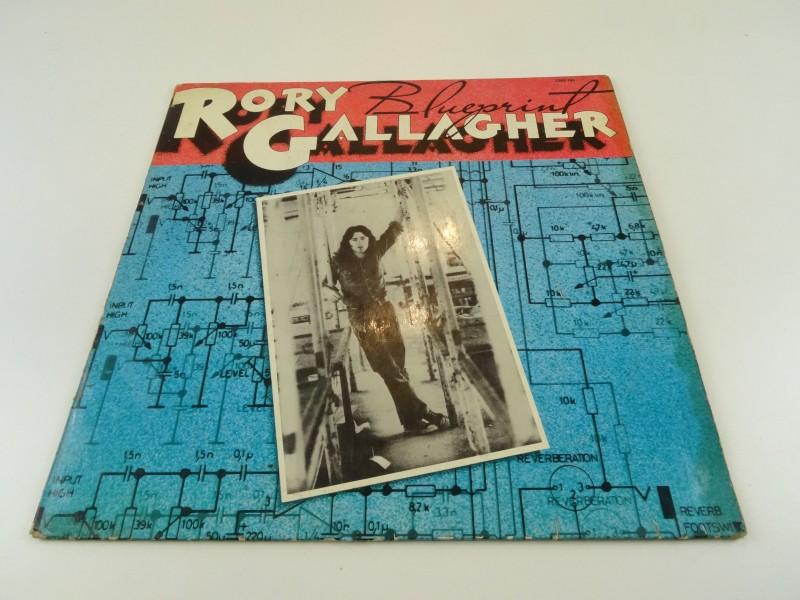 "Rory Gallagher – Blueprint (LP"")"