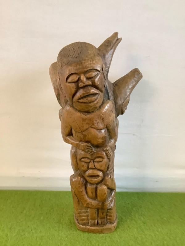 Afrikaans houten beeld