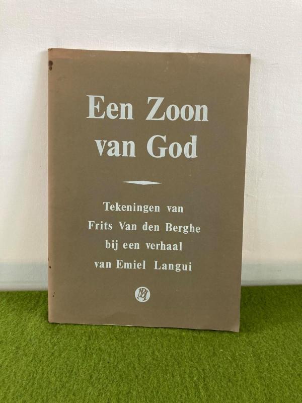 """Boek """"Een Zoon van God"""" met tekeningen van Frits Van den Berghe"""