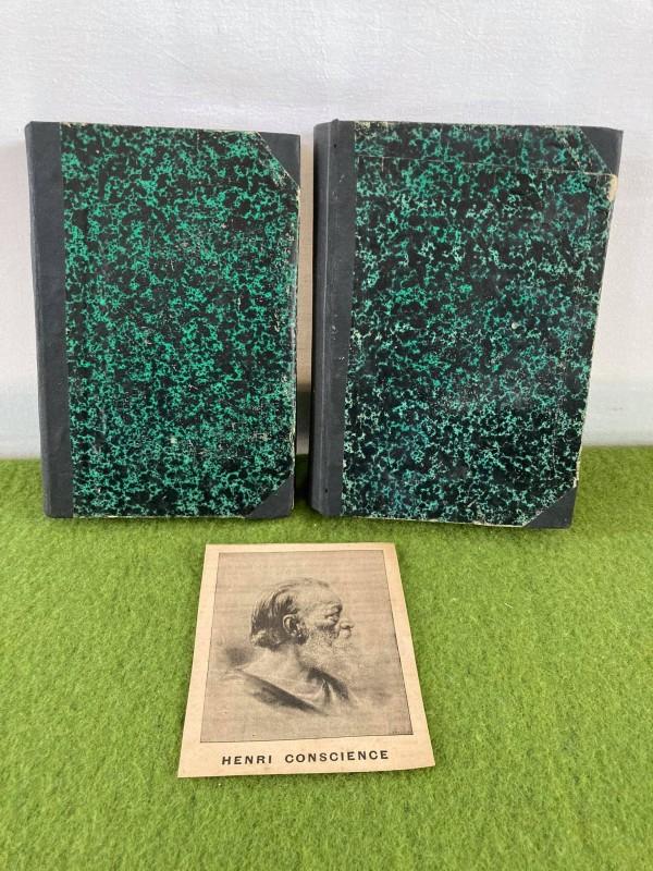 2 boeken Hendrik Conciensce (1884 - 1886)