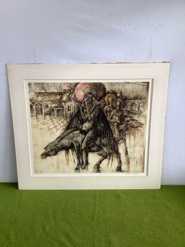 """Litho """"De Ruiters"""" door Jef Van Tuerenhout"""