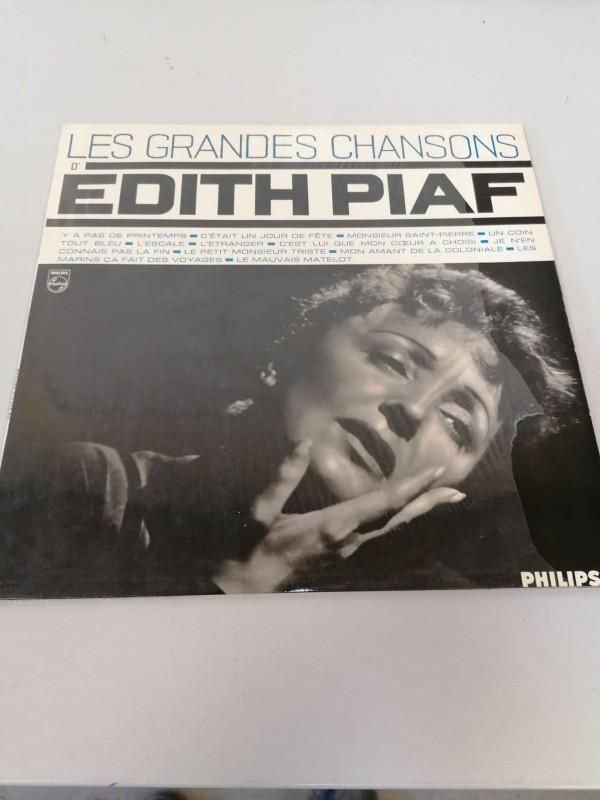 Topcollectie! LP 'Les grands chansons' d' Edith Piaf