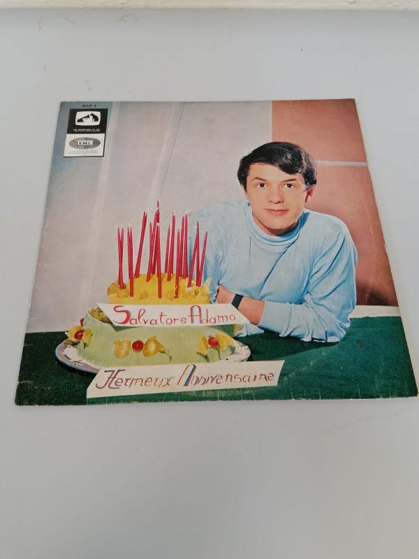 LP Salvatore Adamo - Heureux Anniversaire