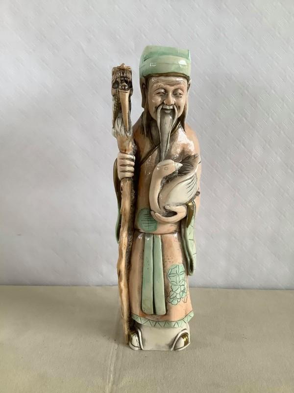 Beeld van een Chinese man: Nigri