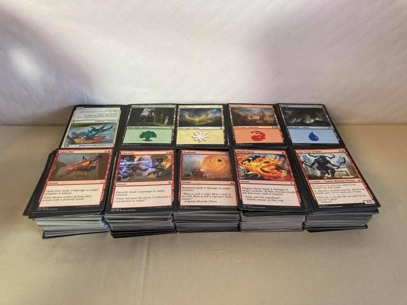 Lot van meer dan 1.000 Magic the Gathering-kaarten