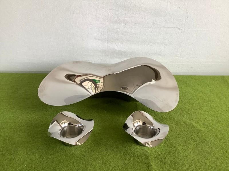 3 design objecten van het merk Georg Jensen