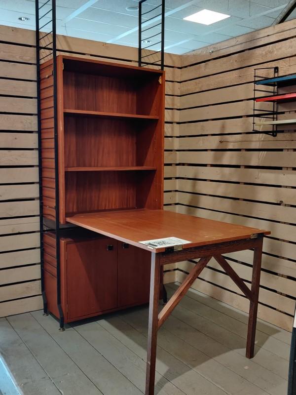 Vintage bureau wandmeubel