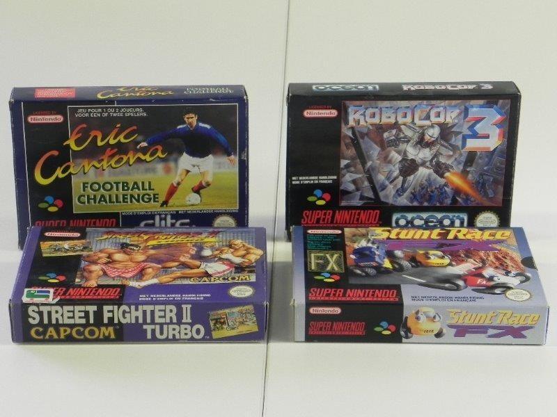Lot Super Nintendo Games