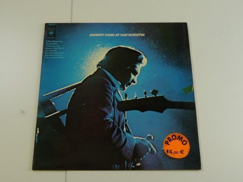 Johnny Cash At San Quentin (LP)
