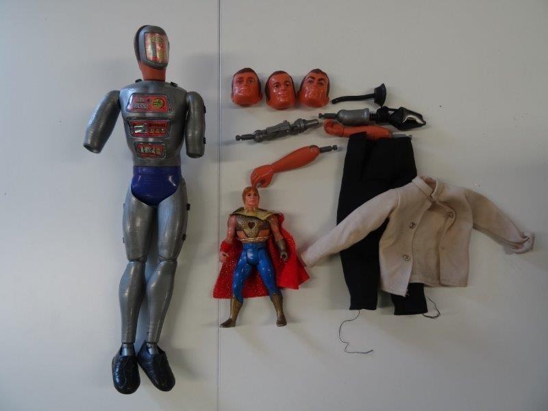 The Six Million Dollar Man - Maskatron + Flash Gordon