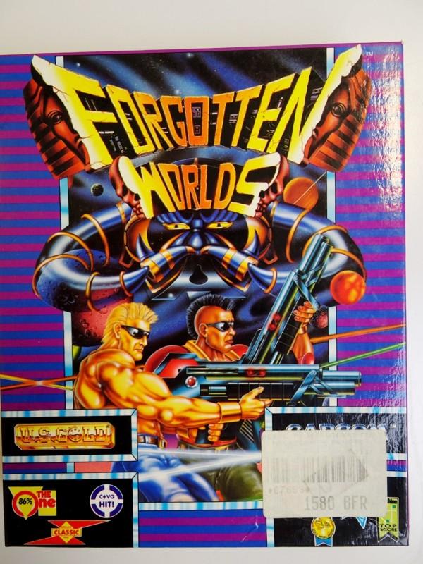 Forgotten worlds - Atari ST