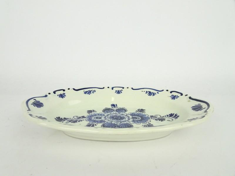 Delfts blauw aardewerk schaaltje.