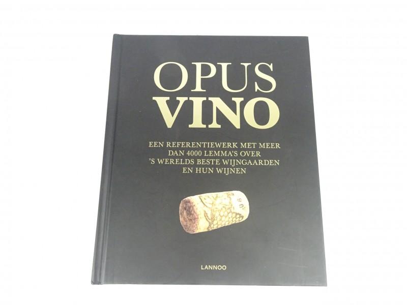 Boek Opus Vino Lannoo