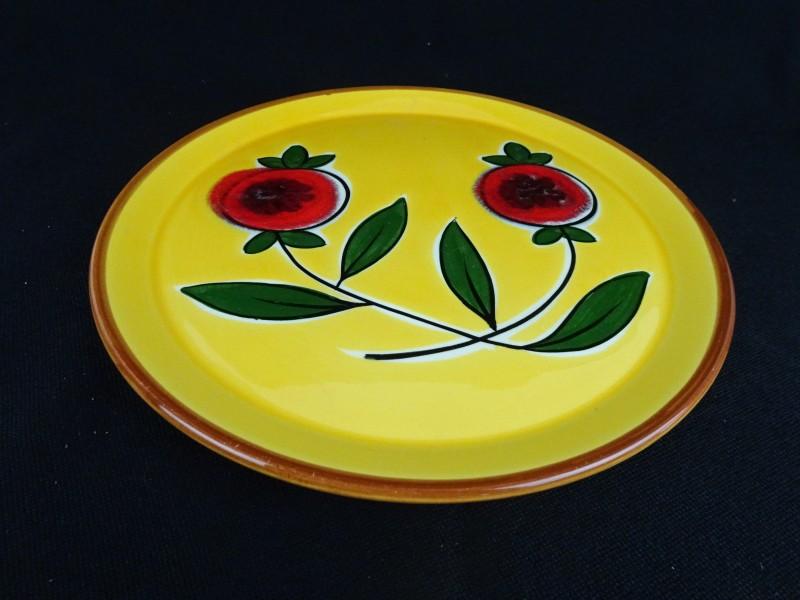 Mooi aardewerk bord 32 cm