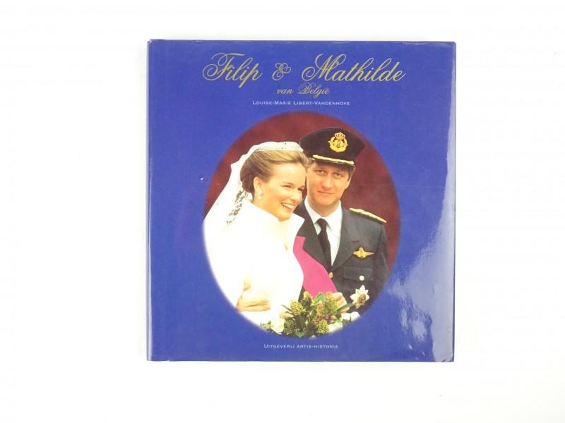 Boek: Filip & Mathilde van België.