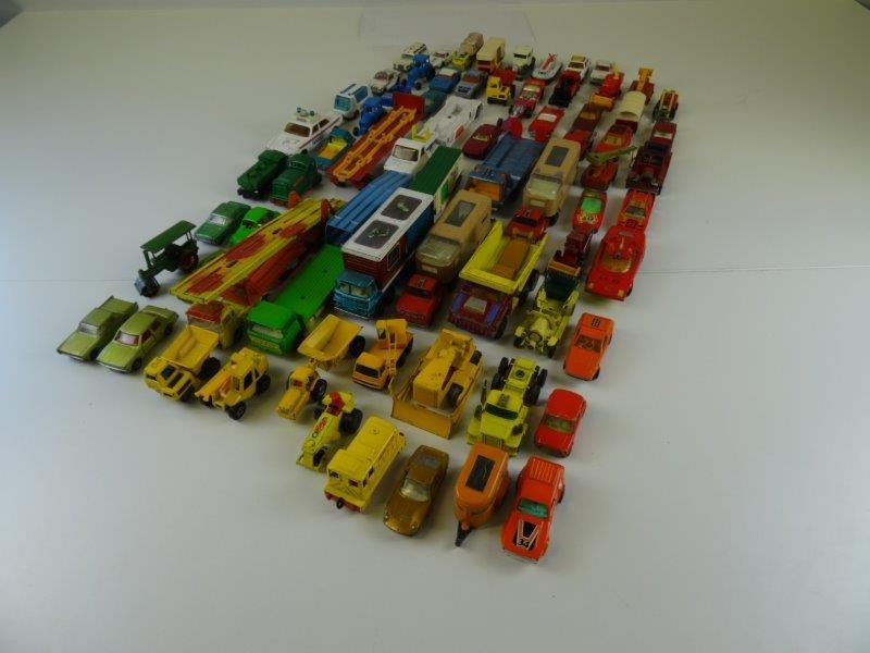 LOT Matchbox wagens