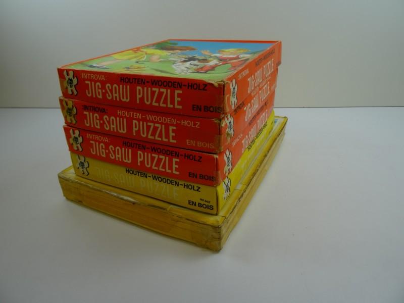 5 charmante vintage puzzels