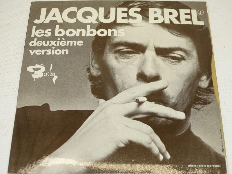 Single, Jacques Brel, La Chanson Des Vieux Amants, Les Bonbons, 1973