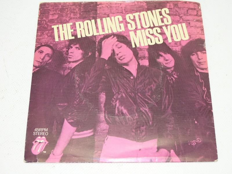 Singel, The Rolling Stones Singles, Miss You, Far Away Eyes, 1978