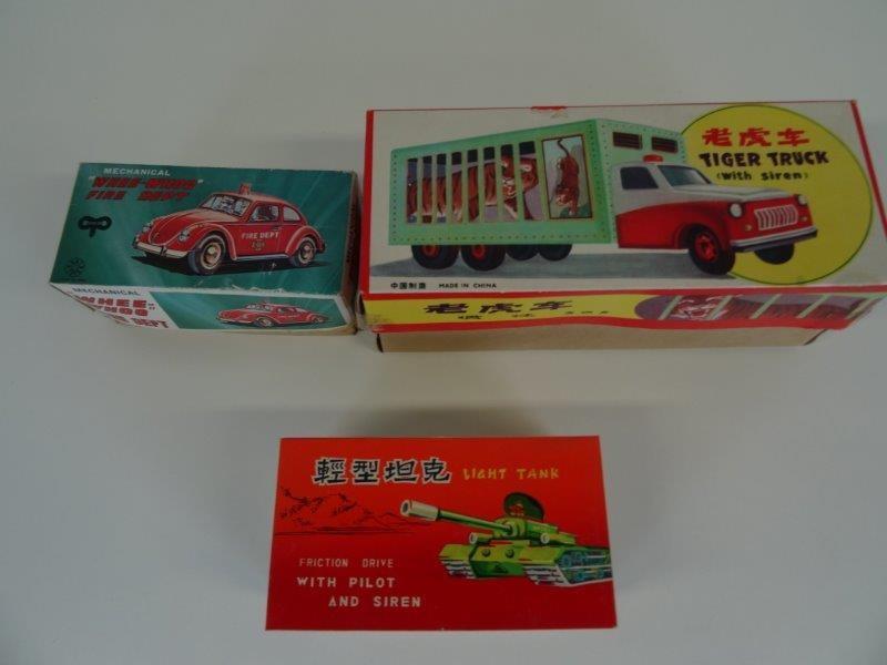 LOT vintage autotjes