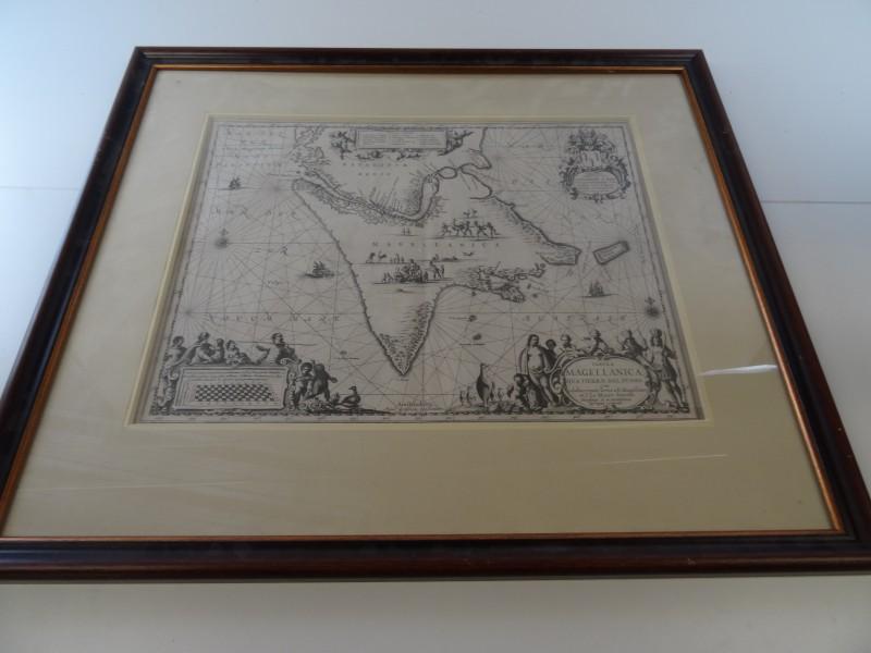 Antieke kaart: Tabula Magellanica Qua Tierrae del Fuego