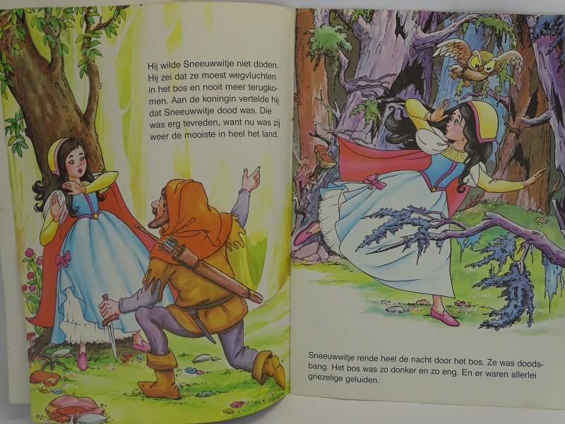 Groot Boek: Sneeuwwitje en de Zeven Dwergen, 1988