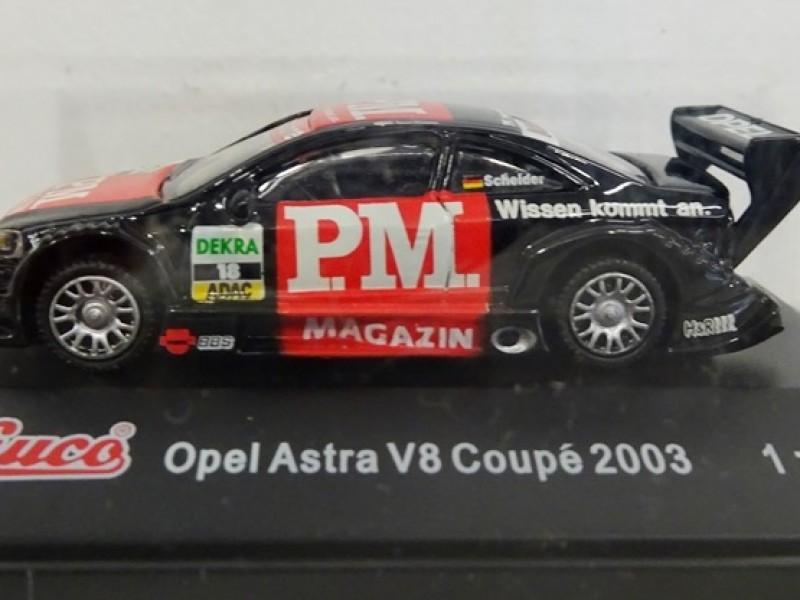 schaalmodel Opel astra V8 Coupé 2003 van Scheider