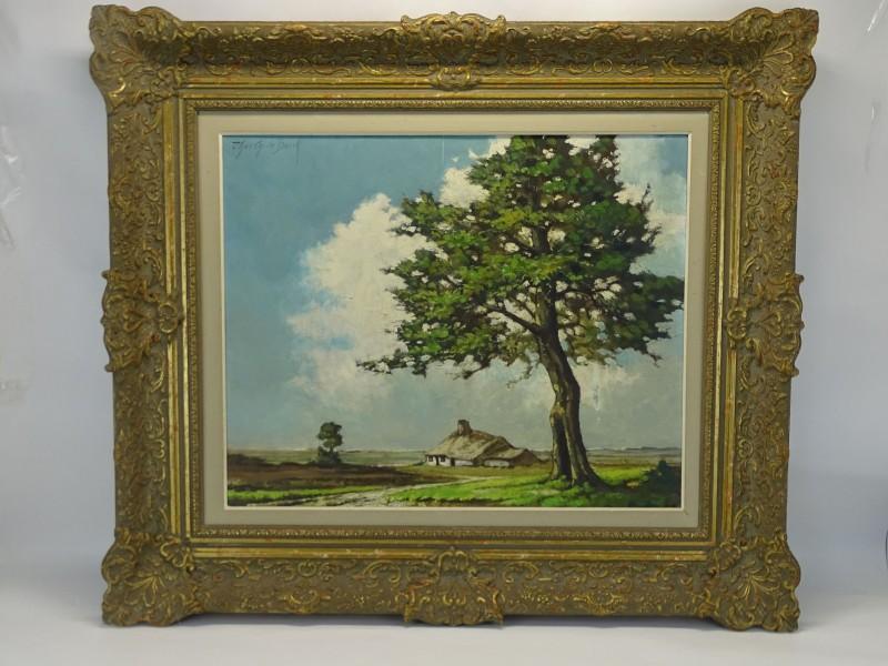 Schilderij: Kempisch Landschap, Theo Op De Beeck