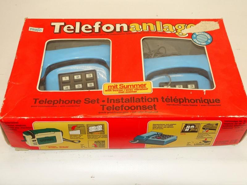 Speelgoed, Vintage Kindertelefoon, Prefo, DDR makelij