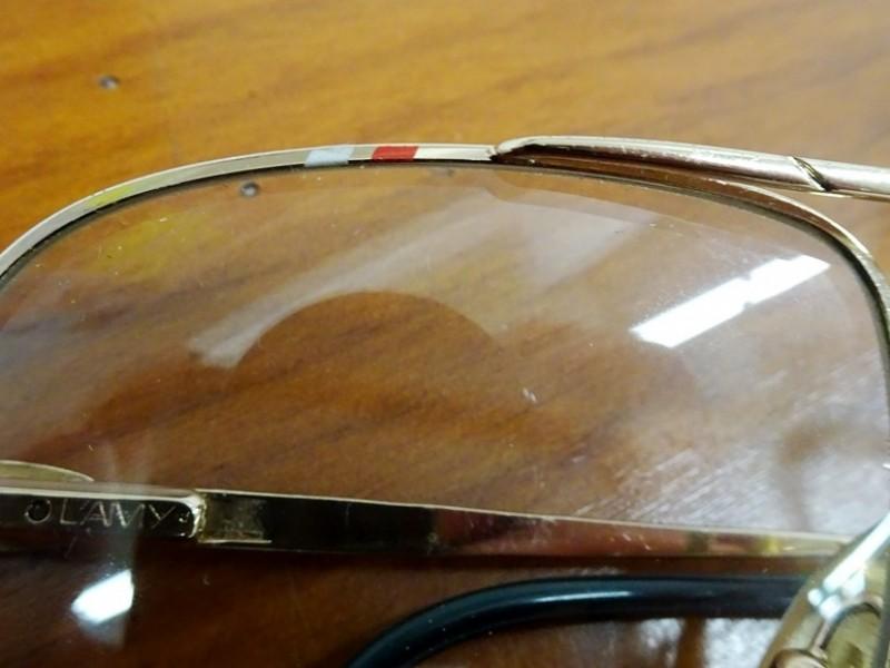 Vintage Lacoste bril