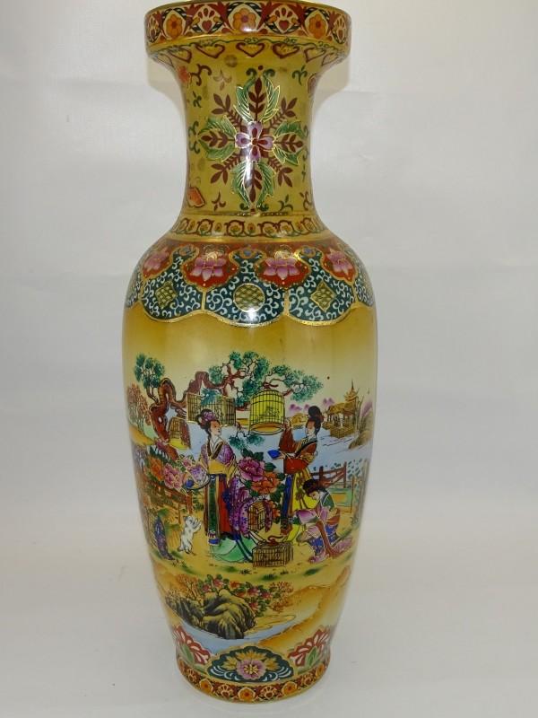 Grote Vaas, Chinees Porselein