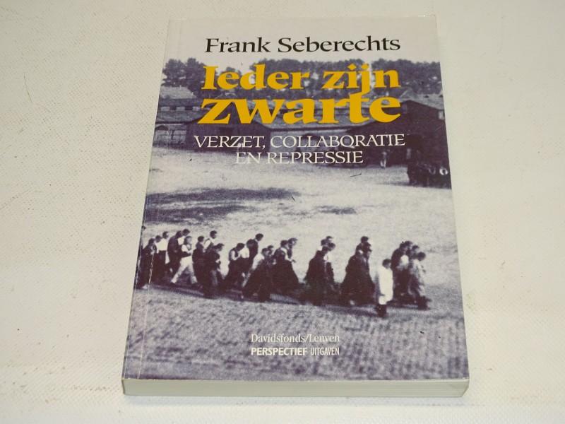 Boek: Ieder Zijn Zwarte, Frank Seberechts, 1994
