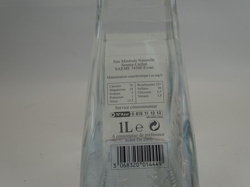 Evian Fles uit 2005