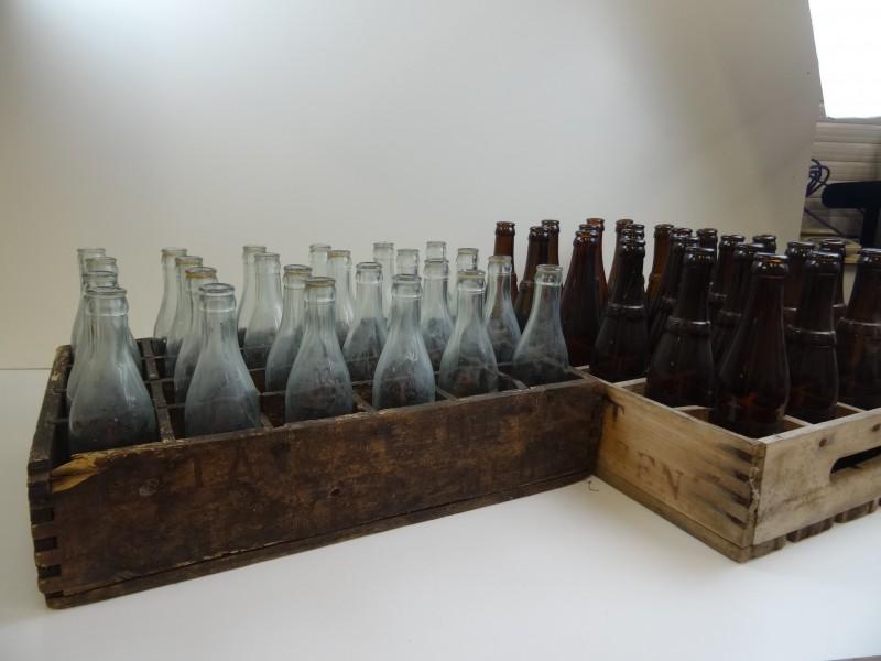 2 Authentieke bierbakken