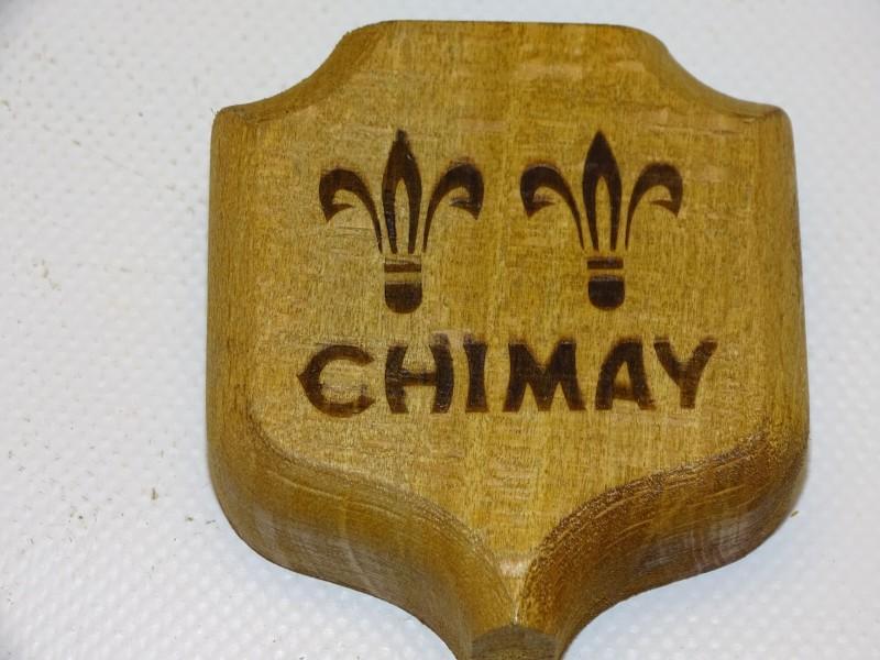 Houten Stoppentrekker / Flesopener: Chimay