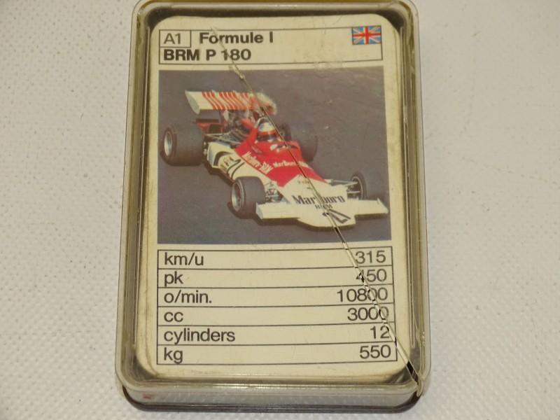 Kwartetspel: Formule 1, Schmid Speelkaarten, Jaren 70