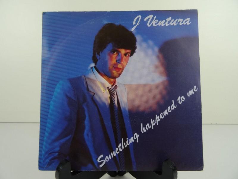 "J Ventura – Something Happened To Me / Claire (7"")"