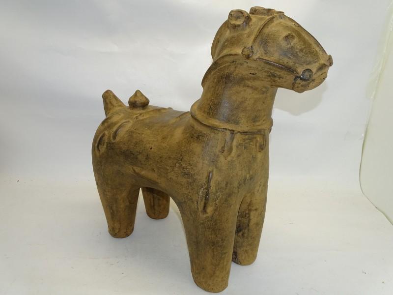 Groot Beeld: Terracotta Paard