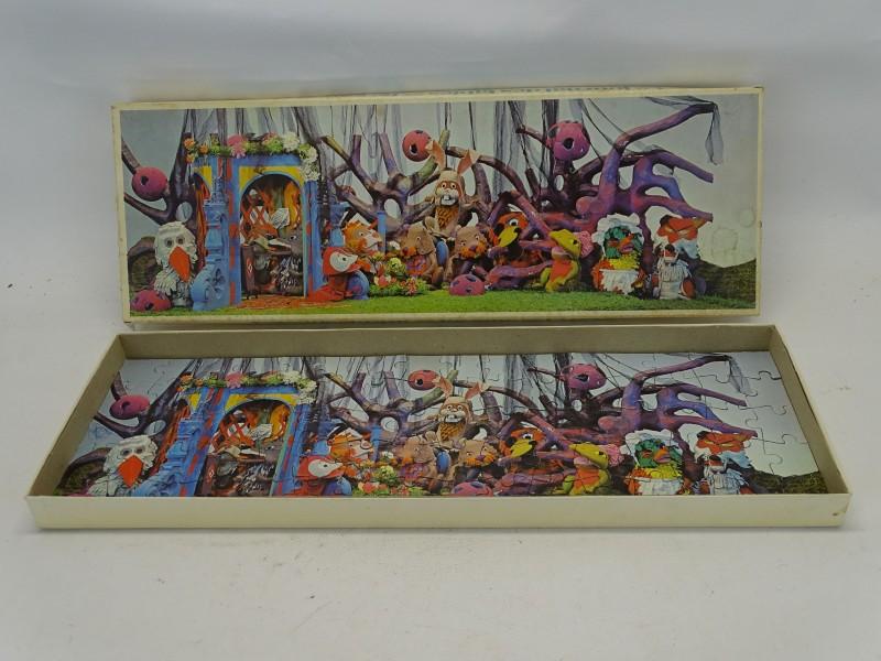 Retro Puzzel, Fabeltjeskrant: Feest In Het Bos, 1968
