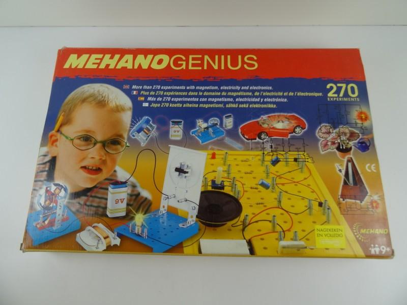 Mehano Genius: experimenteerdoos