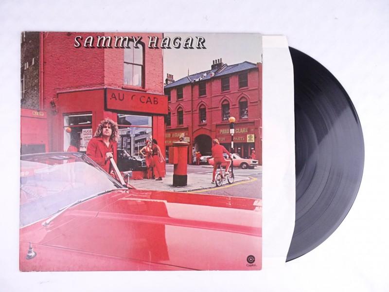 Vinyl album Sammy Hagar, Sammy Hagar.