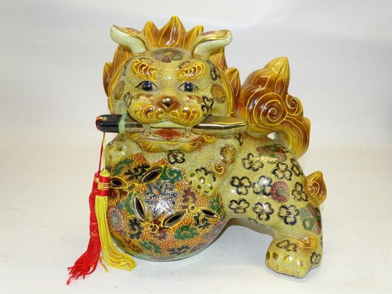 Foo Dog Lion / Leeuwhond, Japans Porselein