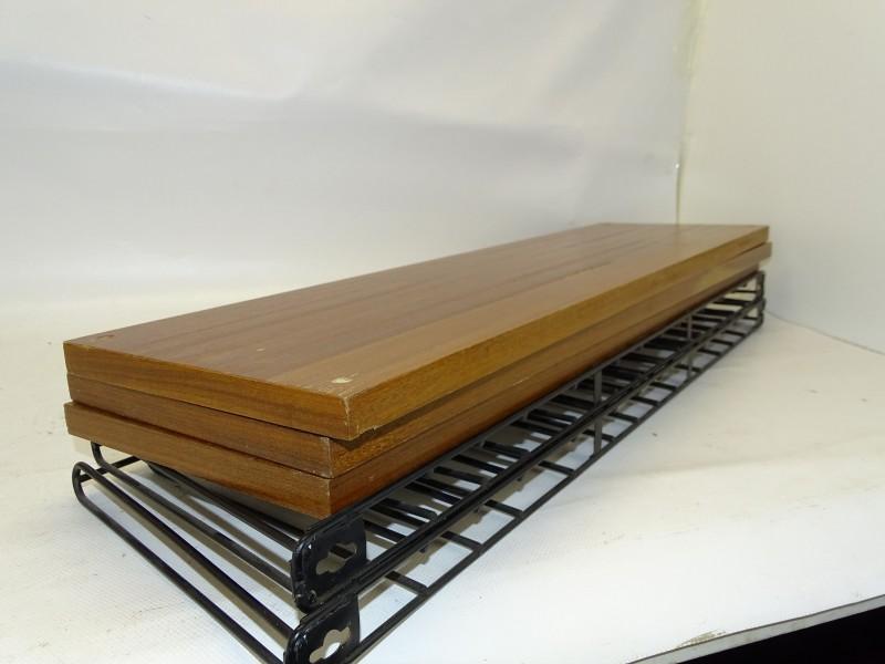 Tomado Rek met Houten Planken